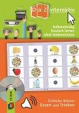 Selbstständig Deutsch lernen ohne Vorkenntnisse - einfache Wörter: Essen und Trinken, CD-ROM (Einzellizenz)