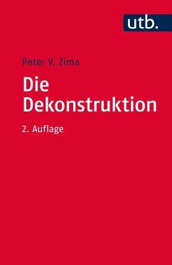 Die Dekonstruktion - Zima, Peter V.
