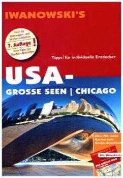 USA-Große Seen / Chicago - Reiseführer von Iwanowski - Kruse-Etzbach, Dirk; Bromberg, Marita