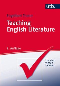 Teaching English Literature - Thaler, Engelbert