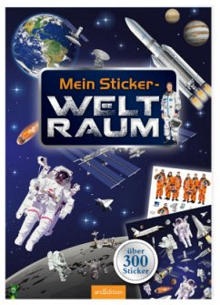 9783845815671 - Illustration: Bräuer, Ingrid: Mein Sticker-Weltraum - Livre