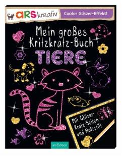 9783845815985 - Stowell, Charlotte: Mein großes Kritzkratz-Buch Tiere - Livre