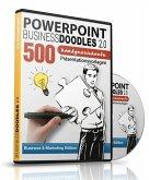 PowerPoint BusinessDoodles 2.0, 500 Handgezeichnete Präsentationsvorlagen für PowerPoint (PC & Mac), 1 CD-ROM (Business & Marketing Edition)