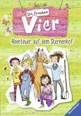 Abenteuer auf dem Sternenhof / Die frechen Vier Bd.1+2