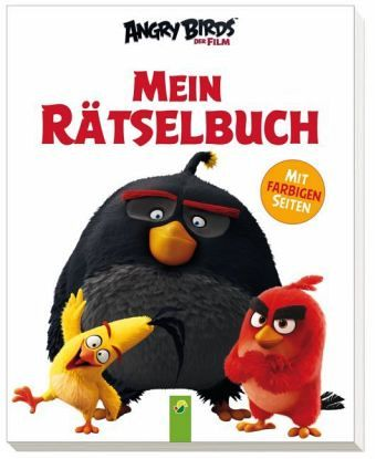 angry birds mein r tselbuch buch. Black Bedroom Furniture Sets. Home Design Ideas