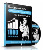 1000 Handgezeichnete Präsentationsvorlagen für PowerPoint, 1 CD-ROM (Business & Marketing Edition)