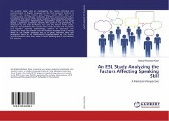 An ESL Study Analyzing the Factors Affecting Speaking Skill