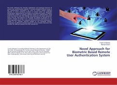 Novel Approach for Biometric Based Remote User Authentication System