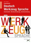 Arbeitsheft mit eingetragenen Lösungen Deutsch - Werkzeug Sprache