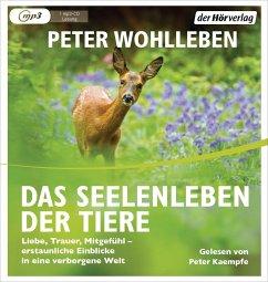 Das Seelenleben der Tiere, 1 MP3-CD - Wohlleben, Peter