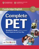 Testbank Complete PET. Student's Book without answers with CD-ROM with Testbank