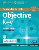 Testbank Objective Key Second Edition. Student's Book with answers with CD-ROM and Testbank.