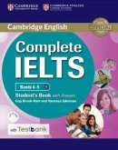 Testbank Complete IELTS. Bands 4-5 B1. Student's Book with answers with CD-ROM with Testbank.