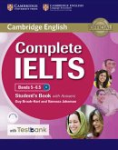 Testbank Complete IELTS. Bands 5-6.5 B2 . Student's Book with answers with CD-ROM with Testbank.