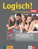 Logisch! neu A1. Lehrerhandbuch mit Video-DVD