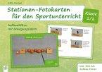 Stationen-Fotokarten für den Sportunterricht - Klasse 1/2