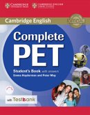 Complete PET - Student's Book with answers, w. CD-ROM and Testbank