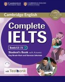 Complete IELTS. Bands 6.5-7.5 C1. Student's Book with answers with CD-ROM with Testbank.