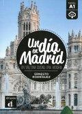 Un día en Madrid. Buch + Audio online