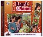 Hanni und Nanni in geheimer Mission, 1 Audio-CD