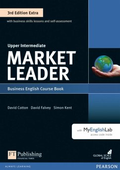 Market Leader Extra Upper Intermediate Coursebook with DVD-ROM and MyEnglishLab Pack - Wright, Lizzie; Cotton, David; Falvey, David; Kent, Simon