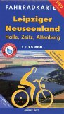 Fahrradkarte Leipziger Neuseenland