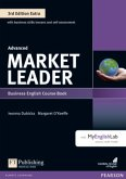 Extra Advanced Coursebook with DVD-ROM and MyEnglishLab Pack / Market Leader Advanced 3rd edition