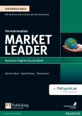 Market Leader Extra Pre-Intermediate Coursebook with DVD-ROM and MyEnglishLab Pack