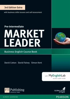 Market Leader Extra Pre-Intermediate Coursebook with DVD-ROM and MyEnglishLab Pack - Walsh, Clare