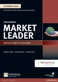 Market Leader Extra Intermediate Coursebook with DVD-ROM and MyEnglishLab Pack