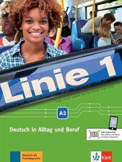 Linie 1 A2. . Kurs- und Übungsbuch mit DVD-ROM - Dengler, Stefanie;Hoffmann, Ludwig;Kaufmann, Susan