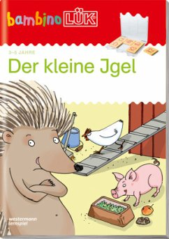 bambinoLÜK - Der kleine Igel - Junga, Michael