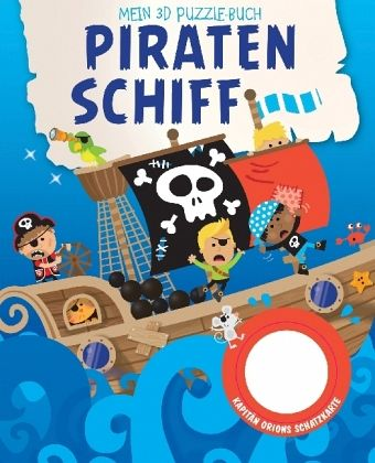 mein 3d puzzelbuch piratenschiff buch. Black Bedroom Furniture Sets. Home Design Ideas