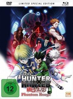 Hunter x Hunter: Phantom Rouge (Mediabook + DVD)