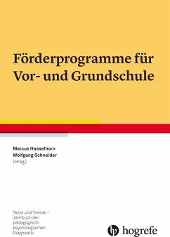 Förderprogramme für Vor- und Grundschule (eBook, PDF)