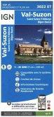 IGN Karte, Carte de randonnée (et plein air)Val Suzon - Saint-Seine-l'Abbaye - Dijon Ouest