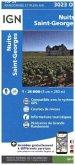 IGN Karte, Carte de randonnée (et plein air) Nuits-St-Georges