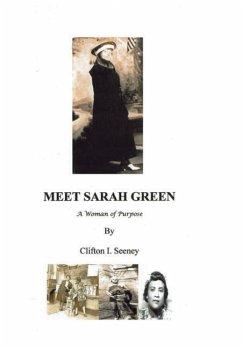 MEET SARAH GREEN