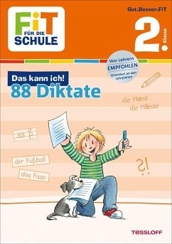 Fit für die Schule: Das kann ich! 88 Deutsch-Diktate 2. Klasse - Essers, Andrea