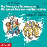 Der Zauberer der Smaragdenstadt & Der schlaue Urfin und seine Holzsoldaten, 4 Audio-CDs