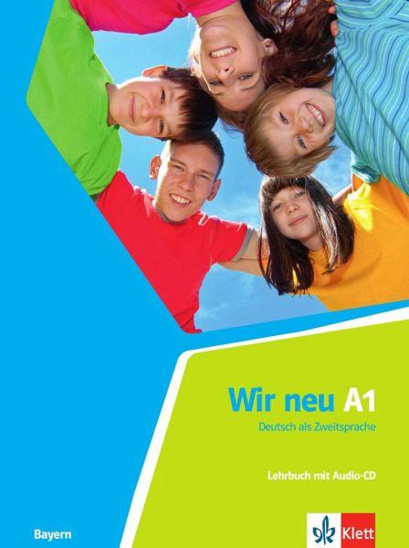 wir neu a1 deutsch als zweitsprache lehrbuch audio cd schulb cher portofrei bei b. Black Bedroom Furniture Sets. Home Design Ideas