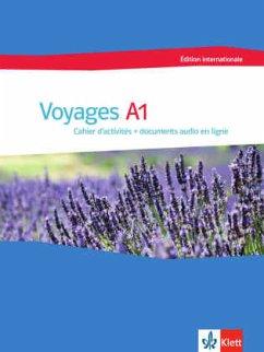 Voyages A1 édition internationale. Cahier d´activités + documents audio en ligne
