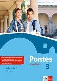 Pontes Gesamtband 3. Arbeitsheft mit Audio-CD