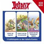 Asterix - Hörspielbox 4, 3 Audio-CDs