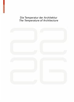 be 2226 Die Temperatur der Architektur / The Temperature of Architecture (eBook, PDF)