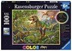 Ravensburger Puzzle 13668 - König der Urzeit -color StarLine