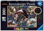 Ravensburger 13665 - Die Wikinger von Berk - color StarLine, Puzzle