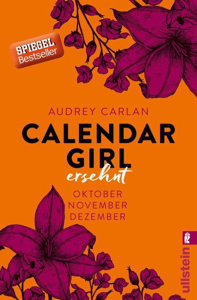 Buch-Reihe Calendar Girl