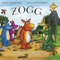 Zogg / Tommi Tatze, Audio-CD - Donaldson, Julia