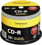 1x50 Intenso CD-R 80 / 700MB 52x Speed, Cakebox